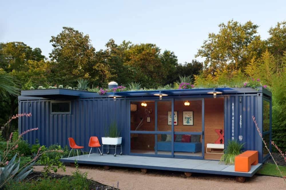 modifying shipping containers for homes