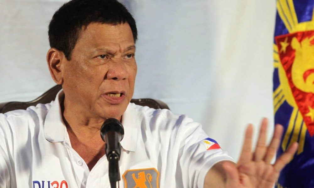 Philippines President Condemns Alleged US Plot To Overthrow Him