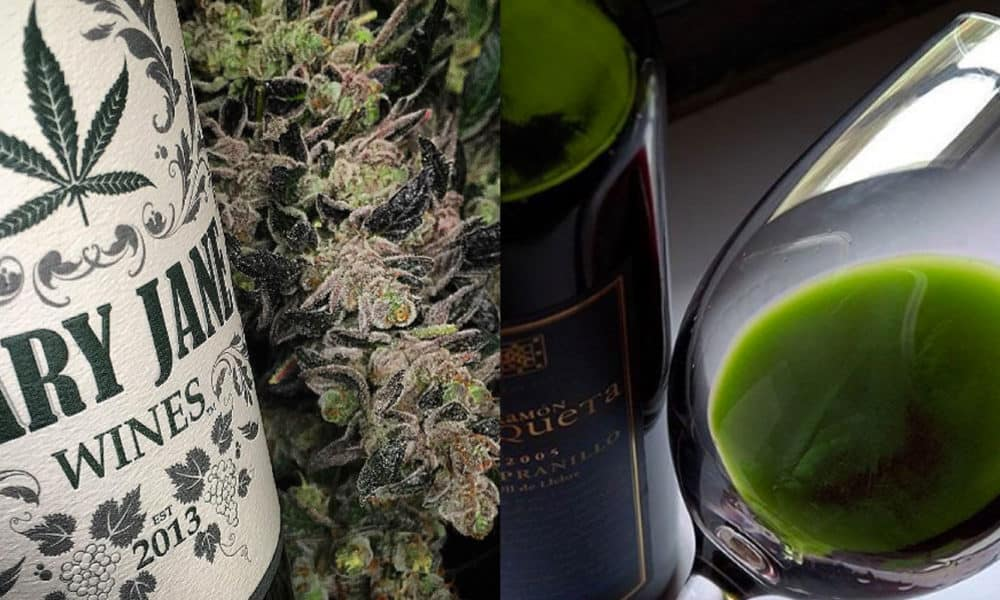 You Can Now Buy Weed-Infused Wine In CA — But There's A Catch
