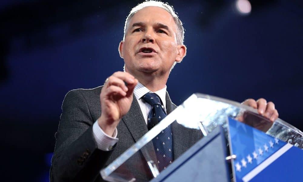 EPA's Scott Pruitt Wants To Televise A Debate On Climate Change