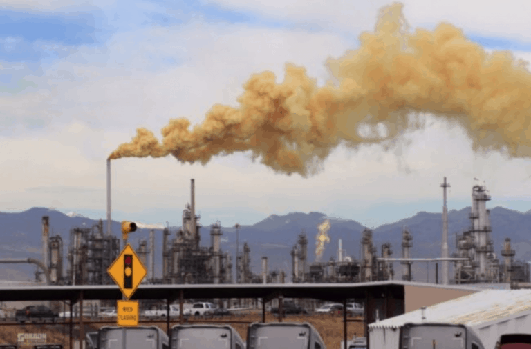 Oil Refinery Spews 8.5 Tons Of Cyanide Gas Over Low-Income Community Each Year