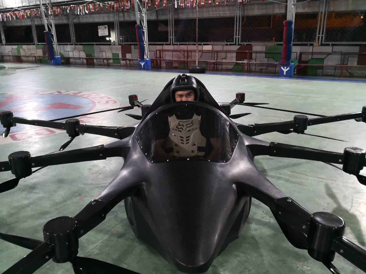 KONCEPTO MILLENYA: Filipino Inventor Channels Frustration Over Metro Manila Traffic To Create His Own Manned Drone Car