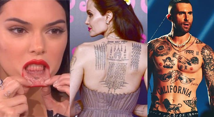 30 Of The Hottest Celebrity Tattoos
