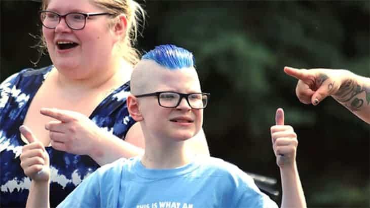 Autistic Boy's Party Was Set To Be A Flop, Until 300 Bikers Showed Up