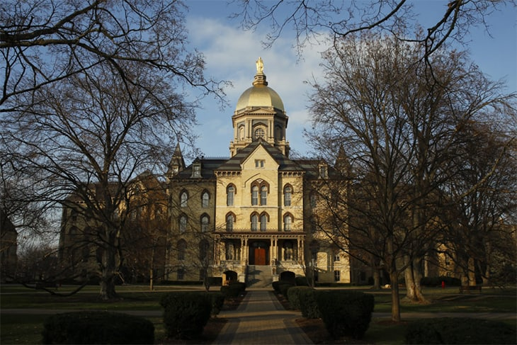 The University Of Notre Dame Has Decided To Cover All Murals Of Christopher Columbus And His Discovery Of The New World