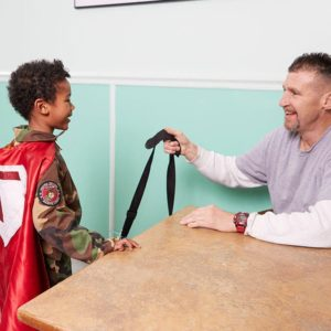 "7-Year-Old Boy Gives Away ""Hero Bags"" To All Homeless Veterans To Help Them Get Back On Their Feet"