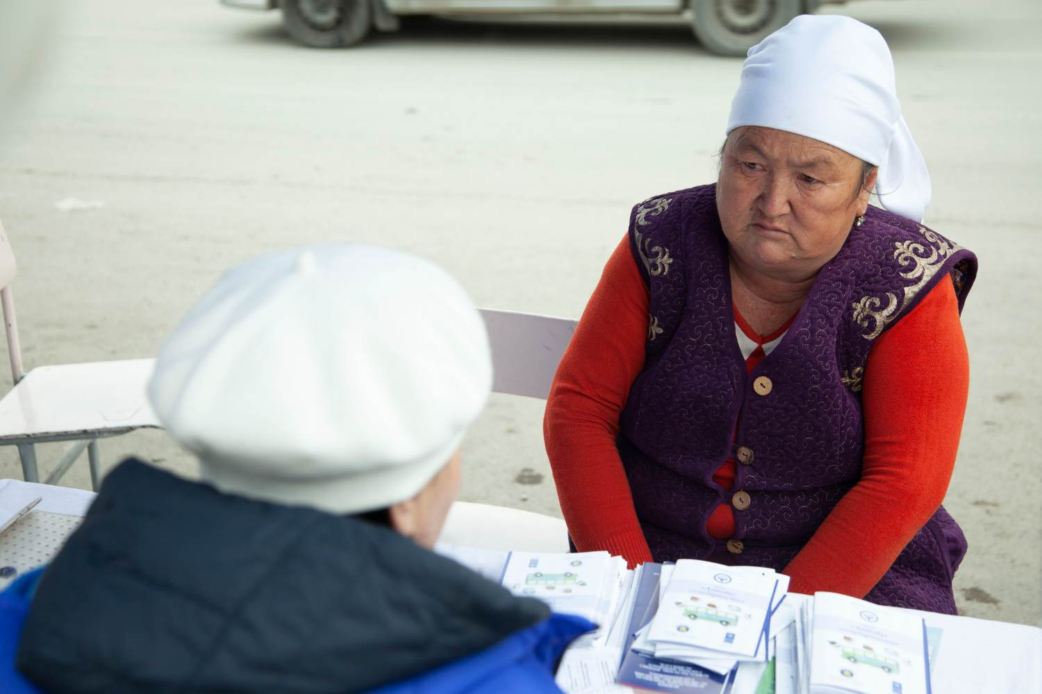 Lawyers on Wheels Bring Legal Assistance to Women in Far-Flung Kyrgyzstan