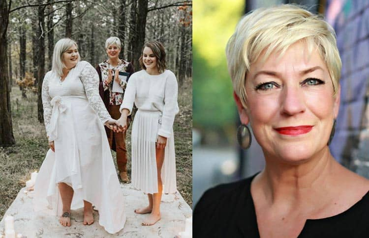 Baptist Woman Takes the Place of Absentee Moms At LGBTQ Weddings