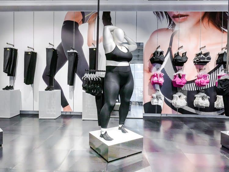The Nike Store In London Has Finally Introduced Plus-Size and Para-Sport Mannequins And The Reactions Are Gold