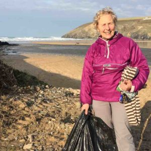 70-Year-Old Environment Warrior Grandma Cleans 52 Beaches All Over The UK And She Doesn't Stop There