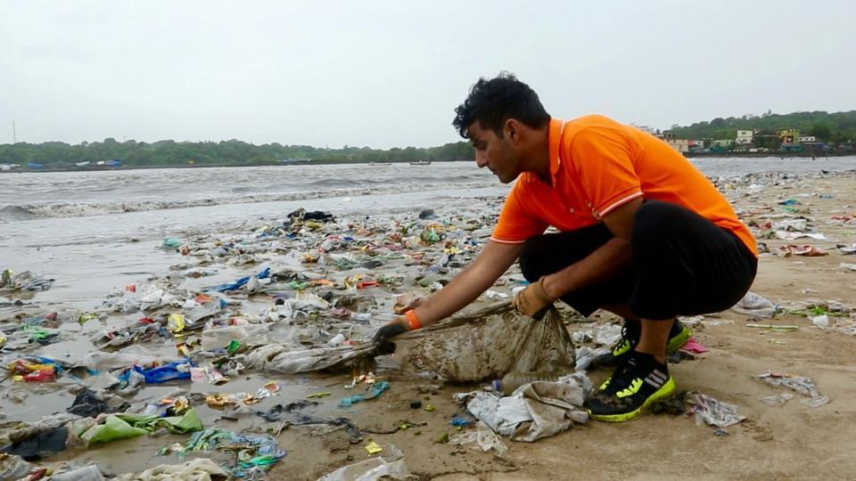 This Beach Clean-Up Hero From India Has Won Against His War On Plastic Waste