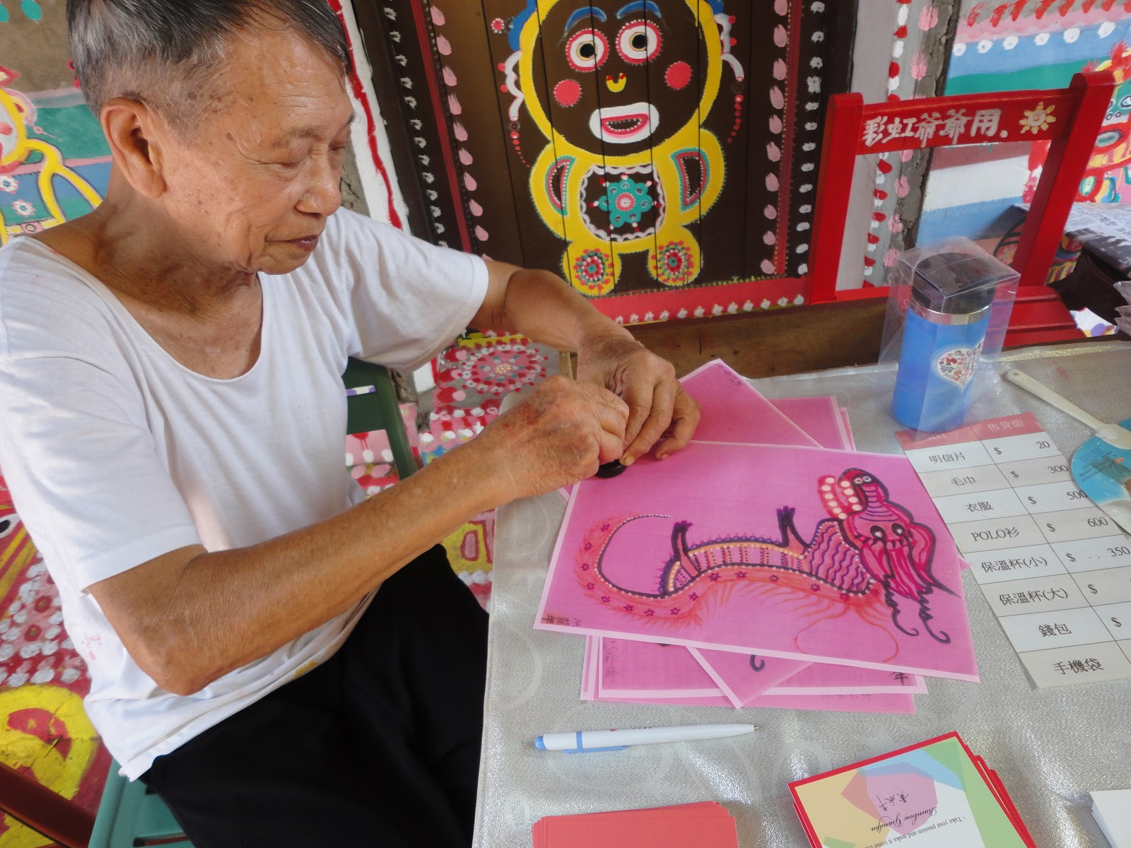 Meet The Rainbow Grandpa That Saved An Entire Village With His Artistic Talent