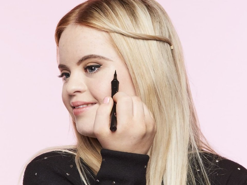 Benefit Cosmetics Signs Up Young British Woman With Down Syndrome To Be The New Face Of Their Cosmetic Line