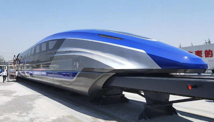 A Chinese Company Has Invented A 'Levitating' Train That Travels At A Faster Speed Than An Airplane