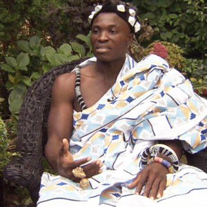 West African King In Ghana Gets A Gardening Job In Canada To Raise Money For His Tribe